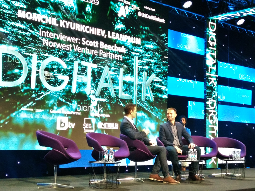 Momchil Kyurkchiev at Digitalk 2018