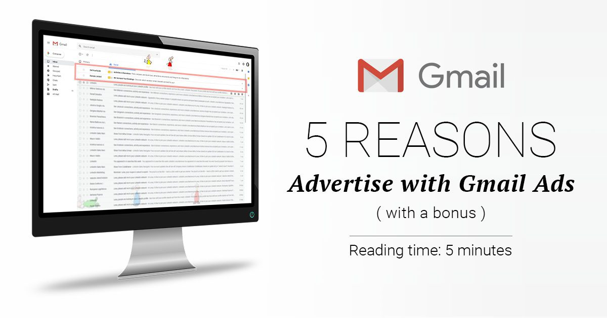 gmail ads advertise