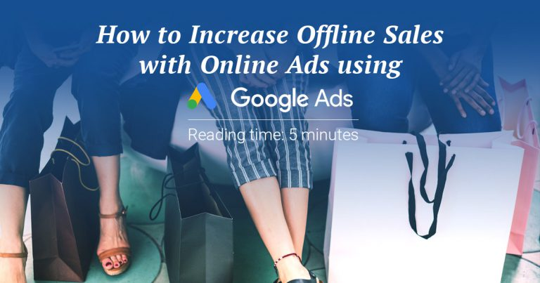 Increase offline sales with online ads