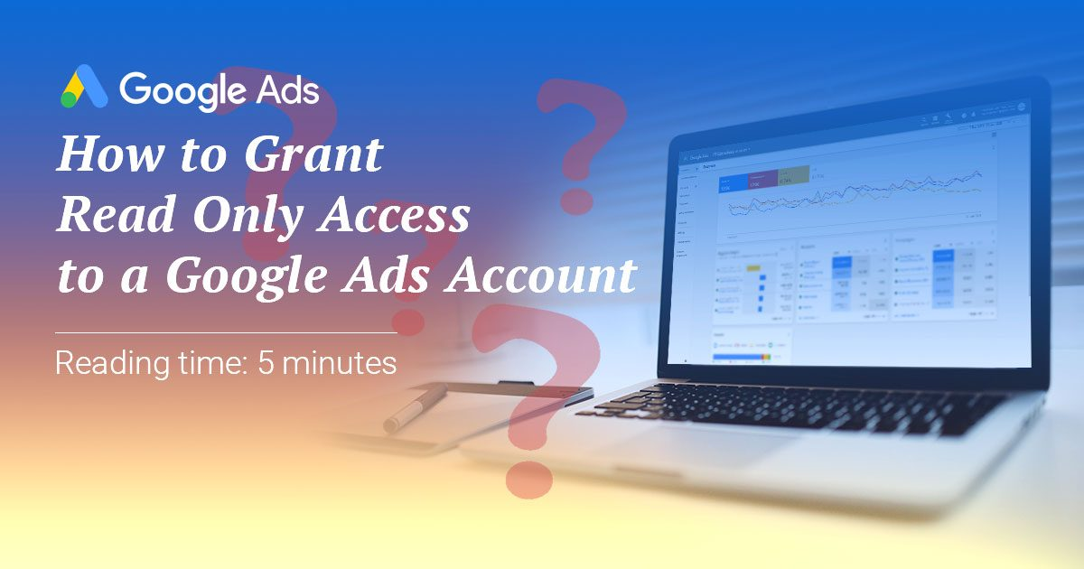 Google Ads Account Access